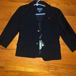 Other - Little boys navy blue blazer with gold buttons